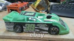 New Dirt Latemodel Ready to Race Car WOW! Mint Green #39