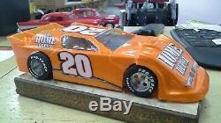 New Dirt Latemodel Ready to Race Car WOW! Orange #20
