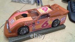 New Dirt Latemodel Ready to Race Car WOW! Orange #6