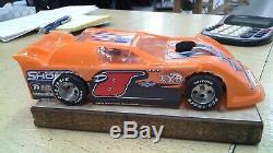 New Dirt Latemodel Ready to Race Car WOW! Orange # 8