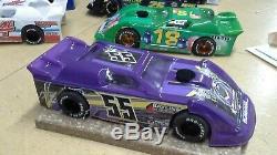 New Dirt Latemodel Ready to Race Car WOW! Purple #55