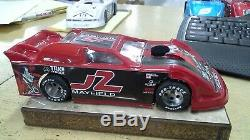 New Dirt Latemodel Ready to Race Car WOW! Red # J2