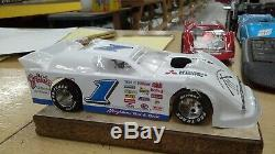 New Dirt Latemodel Ready to Race Car WOW! White # 1