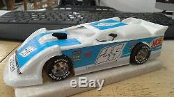 New Dirt Latemodel Ready to Race Car WOW! White #25