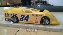 New Dirt Latemodel Ready to Race Car WOW! Yellow #24