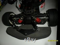 OFNA RC Nitro Dirt Oval 1/8 Scale Electric 4WD Late Model Car