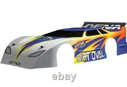 Ofna Racing 34046 1/8 Nitro Dirt Oval Late Model Body Clear