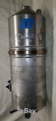 PETERSON DRY SUMP OIL TANK 2 Piece RACING-DIRT LATE MODEL-OVAL-ASPHALT-MOROSO