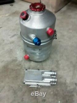 Peterson 4 Gallon Dry Sump Tank Dirt Late Model