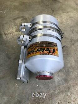 Peterson 4 Gallon Dry Sump Tank Dirt Late Model IMCA Race Car