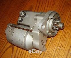 Powermaster XS Torque Starter #9529 Bert Brinn Dirt Late Model Modified SBC SBF