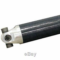 QA1 JJ-11238 Dirt Late Model Carbon Fiber Driveshaft Length 34-1/2 Diameter 3