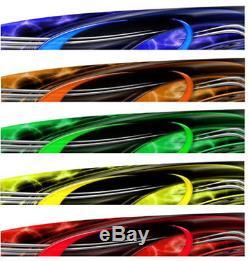 RACE CAR GRAPHICS Vinyl Decal IMCA Late Model Racing Side Stripes Dirt Truck