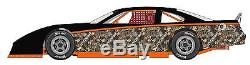 RACE CAR WRAP, Camo Graphics, Decals, IMCA Late Model Dirt # 16
