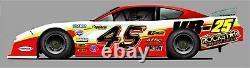 RACE CAR WRAP, Graphics, Decals, IMCA Late Model Dirt #105