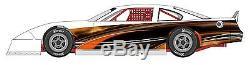 RACE CAR WRAP, Graphics, Decals, IMCA Late Model Dirt #10