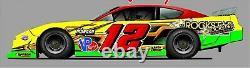RACE CAR WRAP, Graphics, Decals, IMCA Late Model Dirt #111