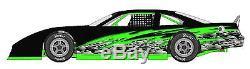RACE CAR WRAP, Graphics, Decals, IMCA Late Model Dirt # 30