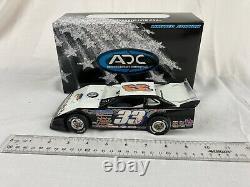 RARE ADC 1/24 Blue Series Al Purkey #33 Taylormade Late Model Dirt Car Wht NIB