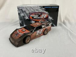 RARE ADC 1/24 Blue Series Raced Version Rick Eckert #24 Late Model Dirt Car NIB