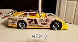 RARE Custom BILLY MOYER 1/24 ADC 1/24 DIRT LATE MODEL DIRT CAR MODIFIED