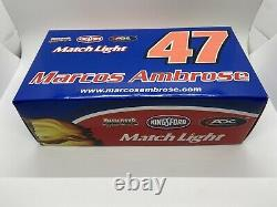 Rare 2010 Marcos Ambrose #47 Kingsford 1/24 Late Model Dirt ADC 1 of 550
