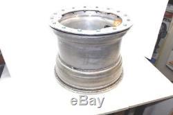 Real Wide 5 Aluminum Beadlock Wheel Dirt Late Model Imca Wissota Weld Ump 12