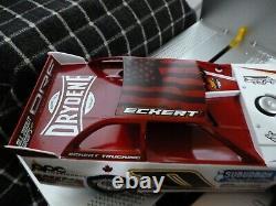Rick Eckert #0 1/24 2020 Dirt Late Model ADC NEW BODY