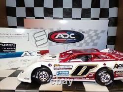 Rick Eckert #0 2020 Drydene Dirt Late Model 124 scale car ADC DW220C248