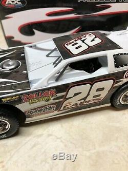 Ron Capps Full Throttle #28 Prelude To The Dream Adc Dirt Late Model 124 Scale