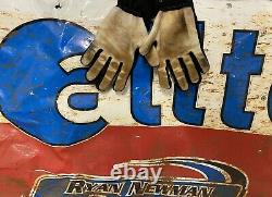 Ryan Newman #39 Signed Race Used Dirt Late Model Simpson Gloves