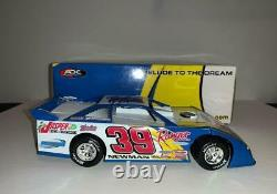 Ryan Newman signed 2007 #39 Prelude to the Dream Dirt Late Model 1/24 ADC