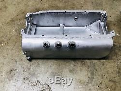 SBC C-Line Alum Dry Sump Oil Pan Dirt Late Model Imca Race Car