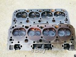 SBC World Products Steel Cylinder Heads Dirt Late Model Imca Race Car