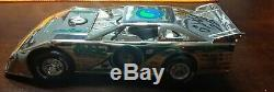 SEALED Scott Bloomquist Late Model Chrome Silver Anniversary Dirt Car 124 Rare