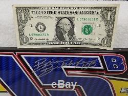 SIGNED BRIAN BIRKHOFER #15B MINI SHEET METAL DOOR DIRT LATE MODEL CAR adc 1/24
