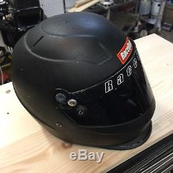 Sa2010 Racequip Pro15 Helmet Dirt Late Model NASCAR IMCA Kart Drag Racing