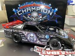 Scott Bloomquist 1/24 Dirt Car Late Model ADC 2016 Lucas Oil Champ Autographed