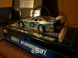Scott Bloomquist Late Model Silver Anniversary Special Edition Dirt Car 124