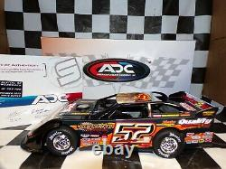 Scott Sexton #52 2020 Dirt Late Model 124 scale car ADC DW220G238