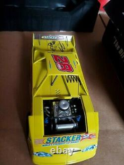 Signed 2005 #28 Jimmy Mars ADC 124 Scale Dirt Late Model RARE 1 of 756