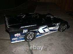 Signed Kyle Larson 2020 ADC 1/24 6 Rumley Lucas Oil Dirt Late Model Diecast Rare