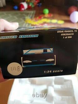 Steve Francis #15 ADC 124 Scale Dirt Late Model RARE 1 of 800. Older model
