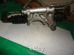 Sweet steering rack 4 ratio rocket dirt late model ump imca wissota 19 1/4 servo