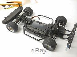 Team Losi Racing Mini Late Model 1/18 Scale 2wd Dirt Oval Racer Roller with Servo