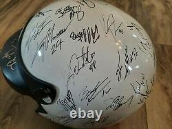 Vintage Bell Racing Helmet Signed By 51winged Sprint & Dirt Late Model Drivers