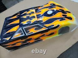 Vintage Custom Works Custom Painted Eldora Late Model 9012 Body Dirt Oval