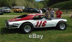 Vintage Dirt Track Late Model Martz Mustang Project Documented History PA & WV