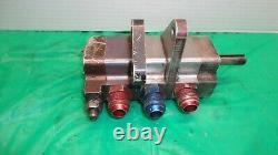 Weavers 3 stage dry sump oil pump ump imca dirt late model SCP Peterson Gamber 1