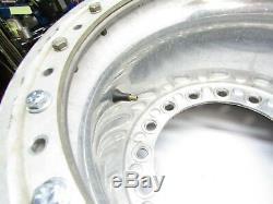 Weld Wide 5 Aluminum Beadlock Wheel Dirt Late Model Imca Wissota Real Ump 12 #2